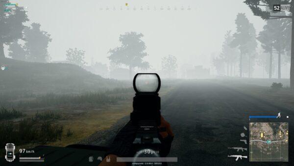 Don't shoot crazily