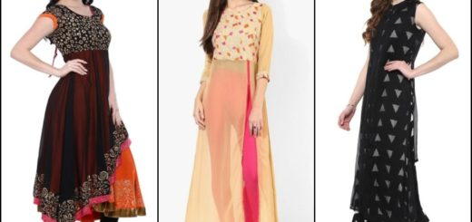Beautiful Chiffon Kurtis