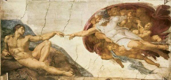 Creation of Adam, Michelangelo Buonarroti