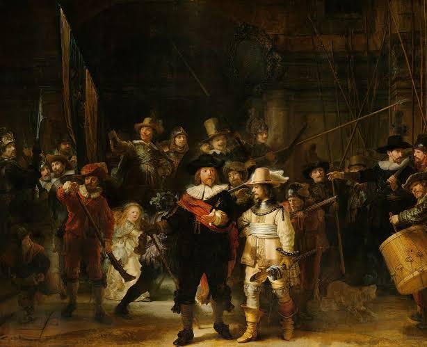 The Nightwatch, Rembrandt van Rijn