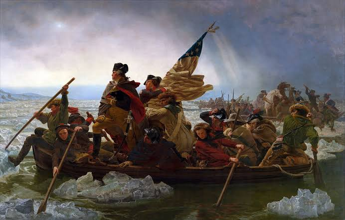 Washington Crossing the Delaware, Emanuel Gottlieb Leutze