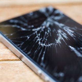 Phone That Needs Repairs